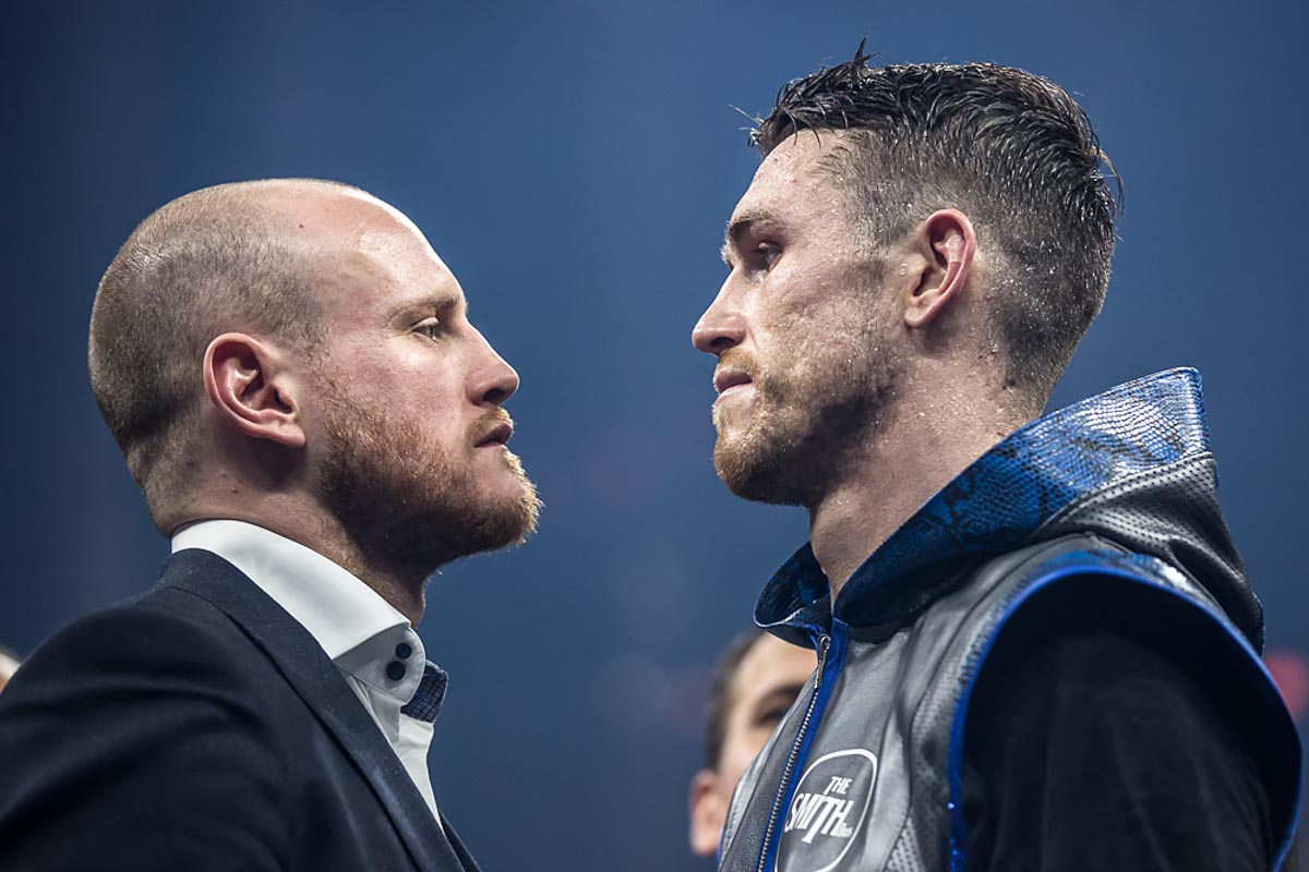 Callum Smith Nieky Holzken Web21