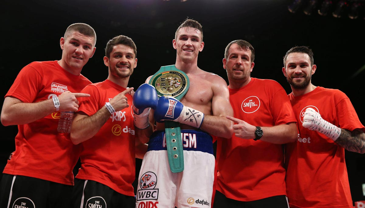 Callum Smith Tobias Webb Web5